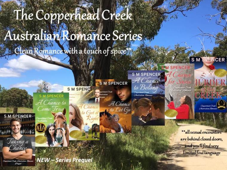 Copperhead Creek Series with PREQUEL and awards - March 2019