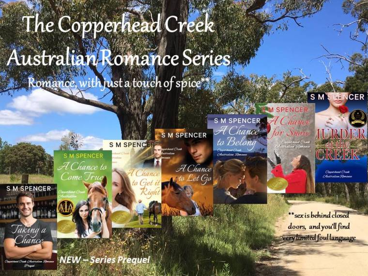 Copperhead Creek Series with PREQUEL and awards - August 2019 - Copy